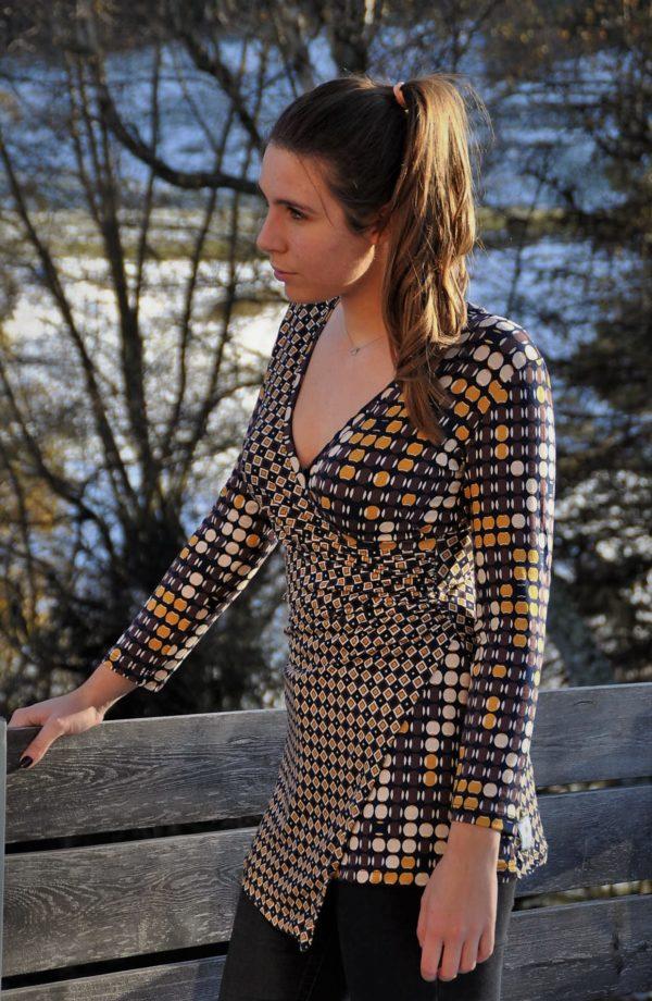 tunique drapée