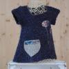 Robe tunique marine