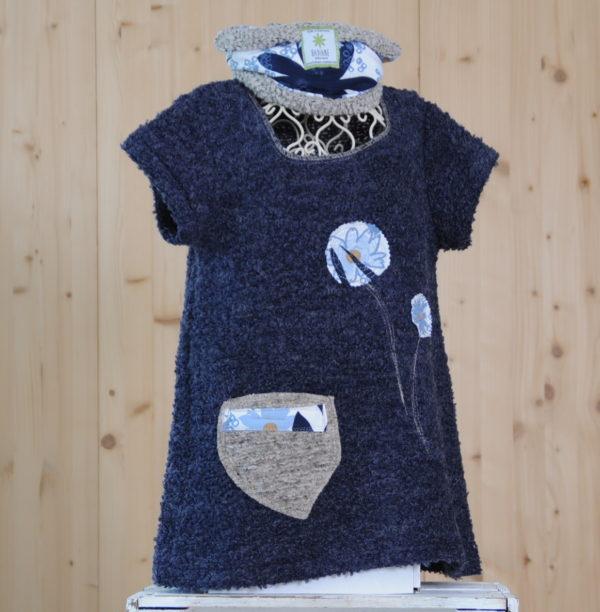 Robe tunique /cache-cou