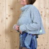 Pull court maille